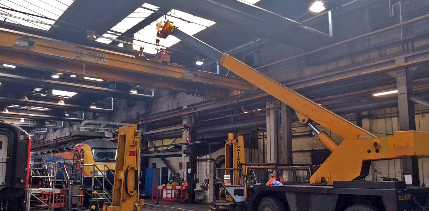 Soaring to new heights, our overhead crane installation ...